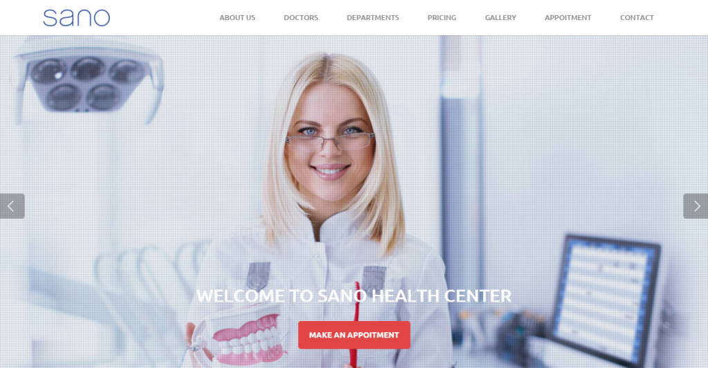 SANO Multipurpose Medical Business Template