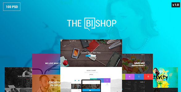The Bishop PSD Template
