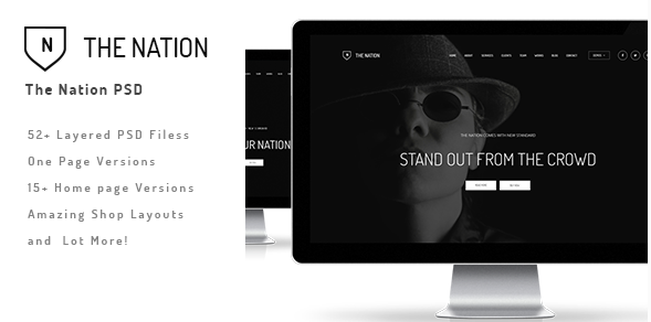 The Nation Business and Creative PSD
