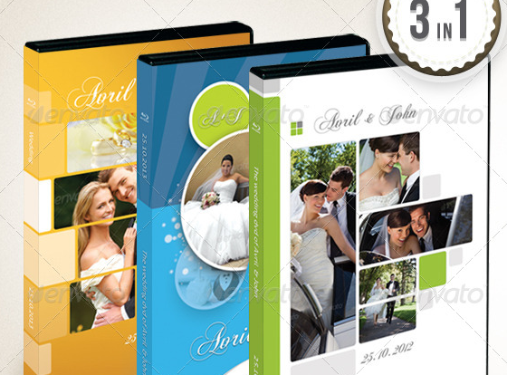 Wedding DVD Covers Bundle