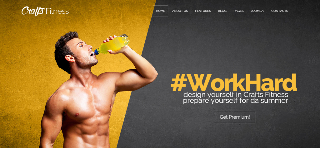 Craftsmen Joomla Template for Every Business