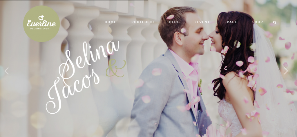 Everline Wedding Joomla Template