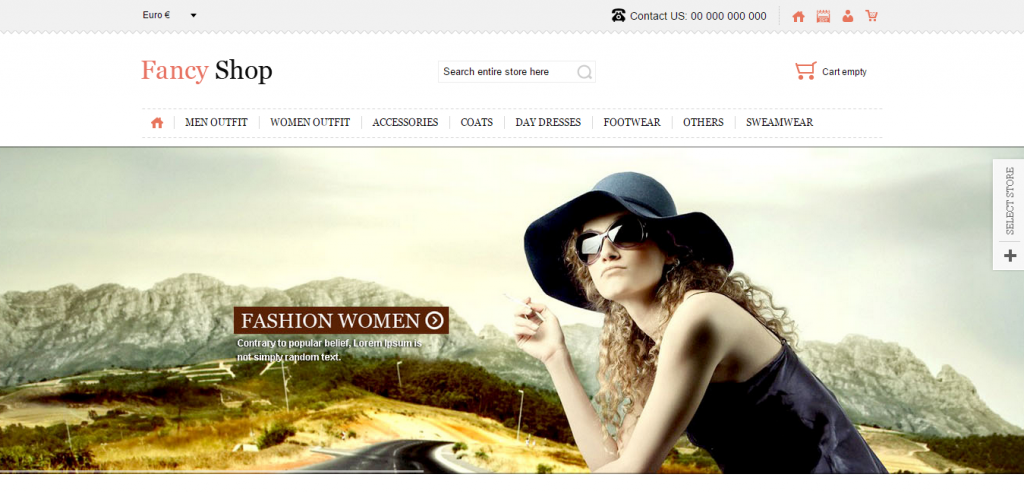 Fancy Shop VirtueMart Responsive Theme