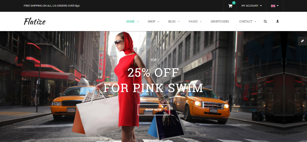 Flatize Fashion eCommerce Joomla Template