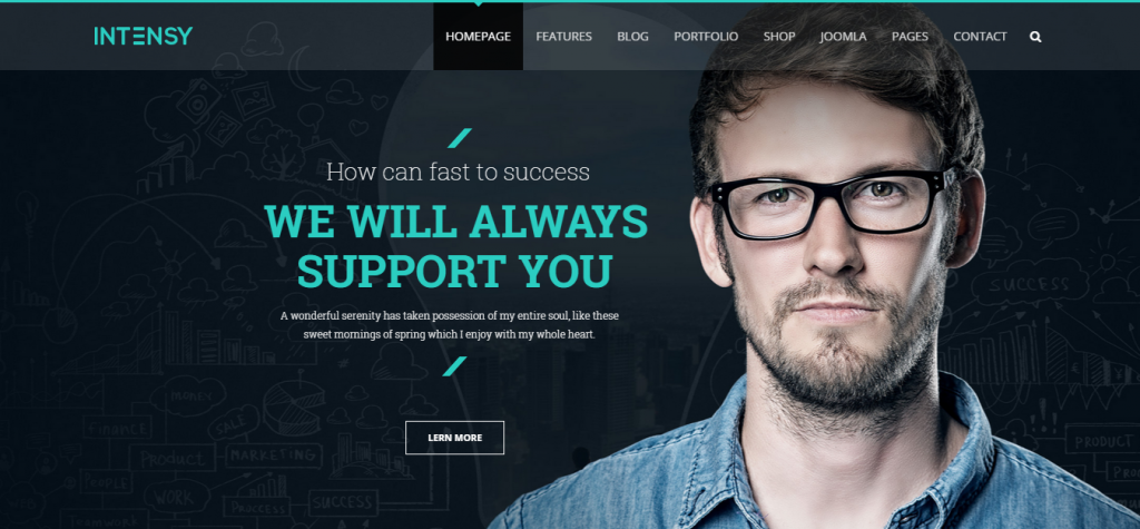 Intensy Multipurpose Joomla Template