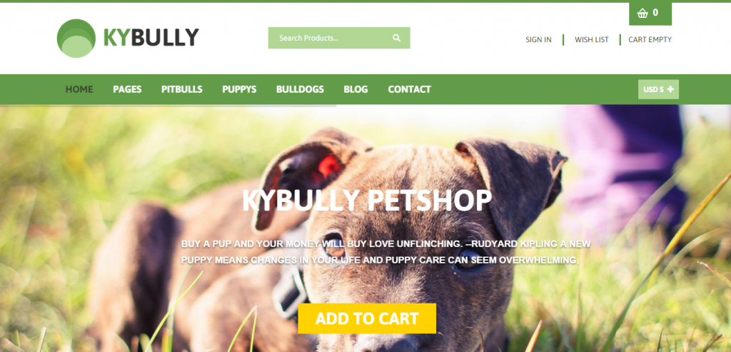 Kybully Mobile First Joomla Virtuemart Theme