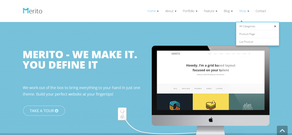 Merito The Powerful Multipurpose Joomla Template