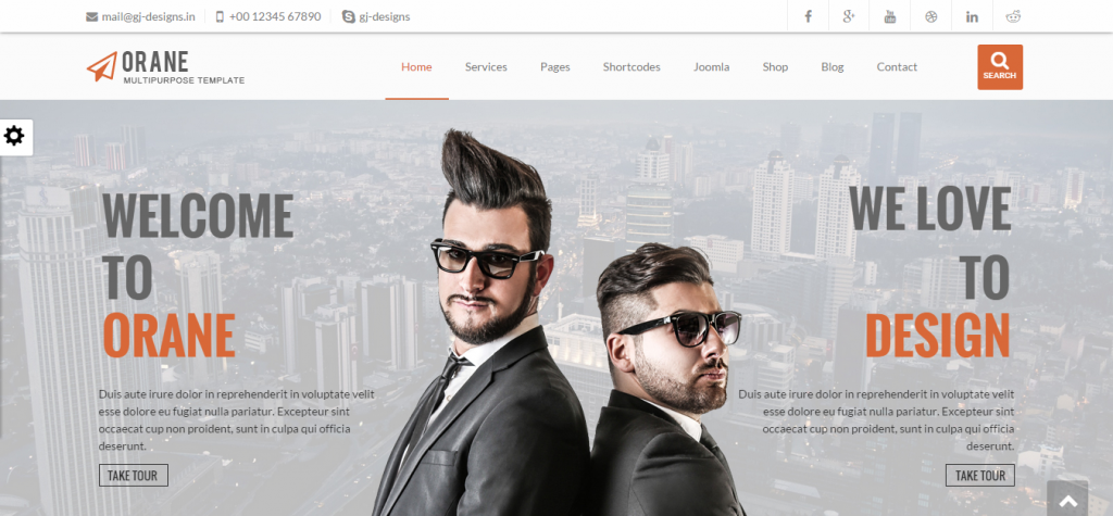 Orane Multipurpose Joomla Template