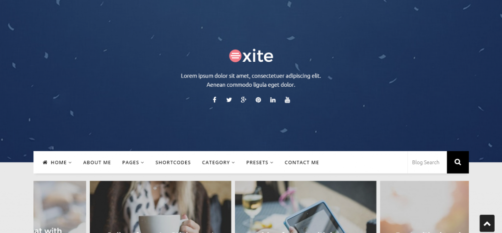 Parallaite Responsive Business Joomla Template