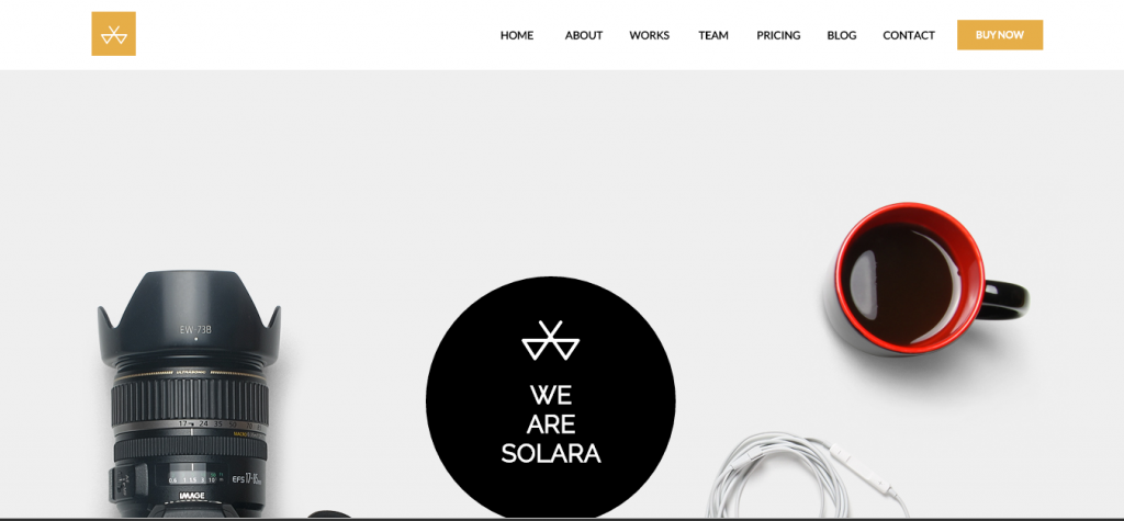 Solara Multi-Purpose Creative Pagewiz Template