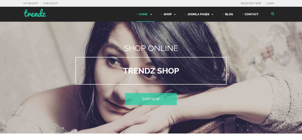 TP Trendz Joomla E-commerce Template