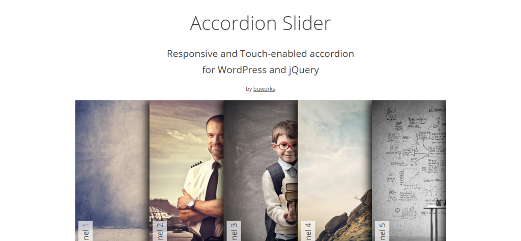 Accordion Slider Responsive WordPress Plugin
