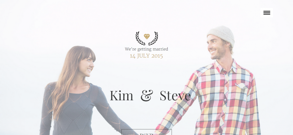 Amorous Wedding Muse Template
