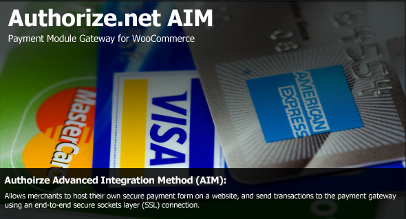 Authorize.net AIM Payment Module for WooCommerce
