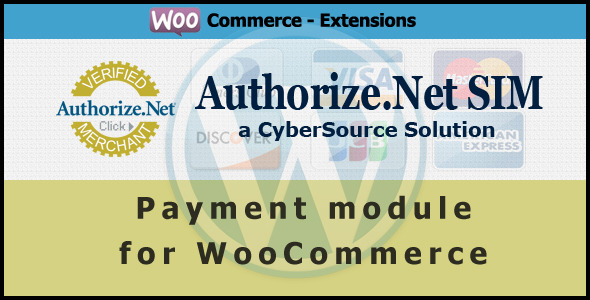 Authorize.net SIM Payment Gateway for WooCommerce