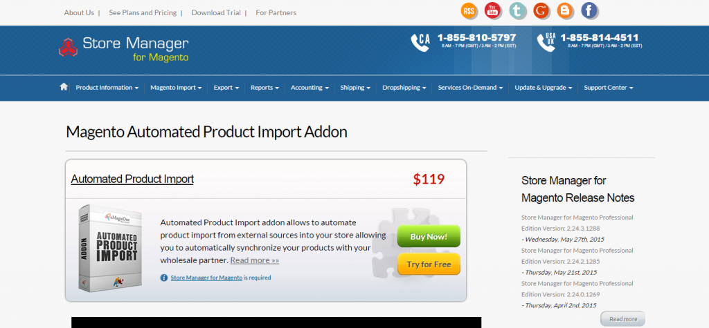 Automated Product Import for Magento