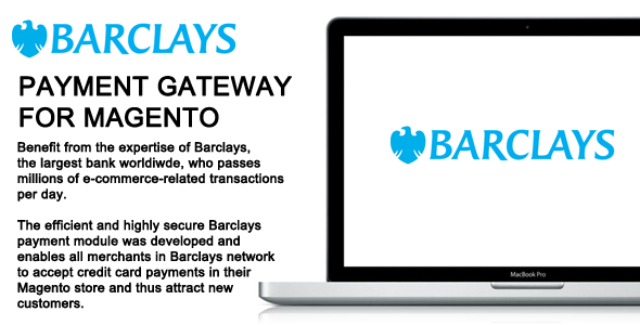 Barclays Payment Gateway Magento