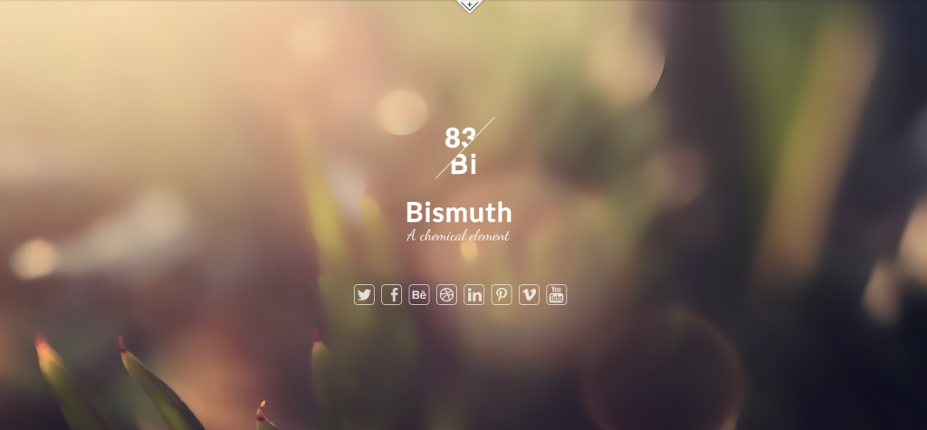 Bismuth All in One Responsive Joomla Template