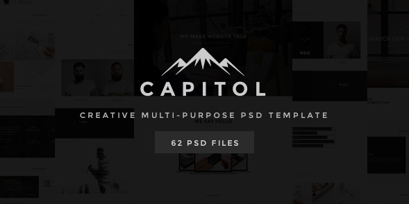 Capitol Creative Multi-Purpose PSD Template