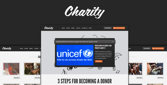 Charity Nonprofit NGO Template