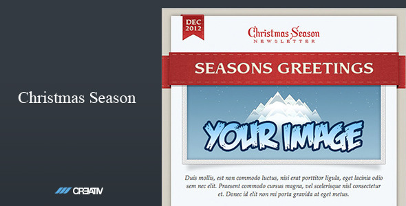 Christmas Season Email Template