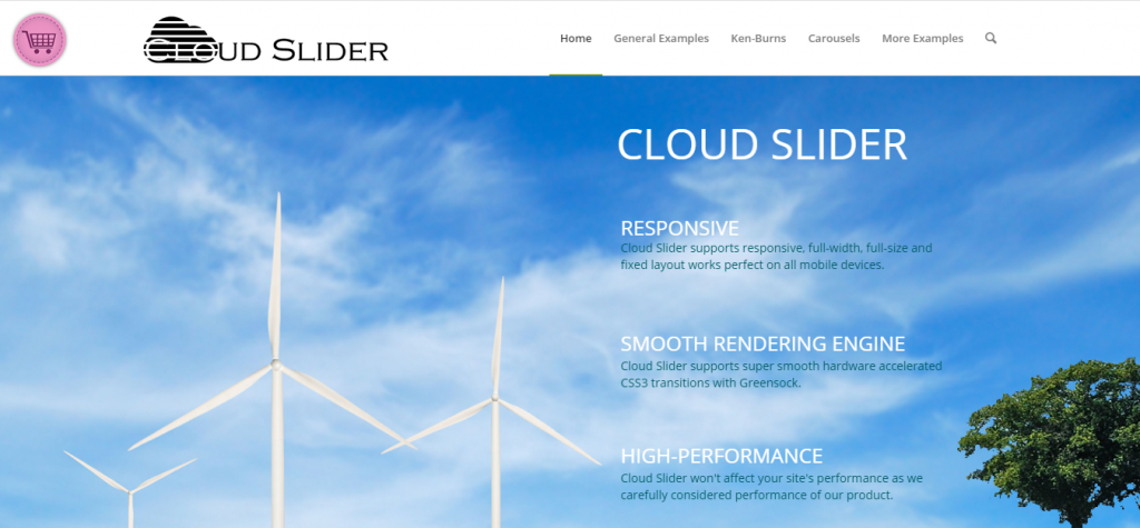Cloud Slider Responsive WordPress Slider
