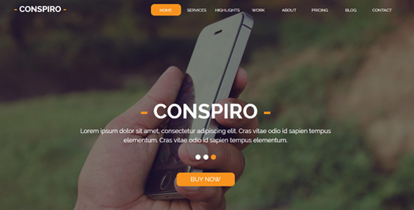 Conspiro Multipurpose Muse Template