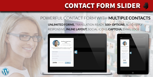 Contact Form Slider for WordPress