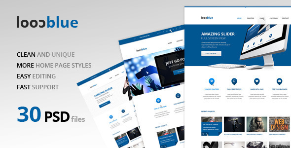 Coolblue Multipurpose PSD Theme
