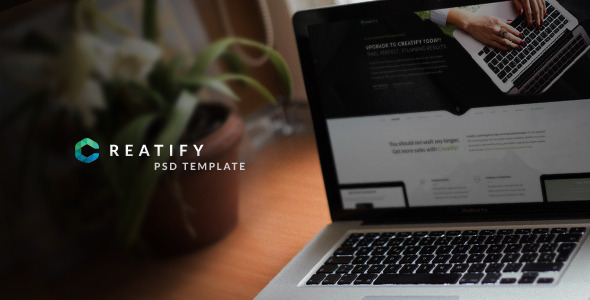 Creatify Multipurpose PSD Template