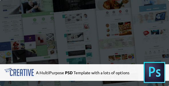 Creative Multipurpose PSD Template