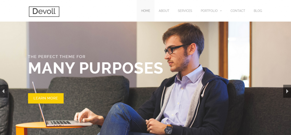 Devoll Multi-Purpose Theme powered by Jekyll