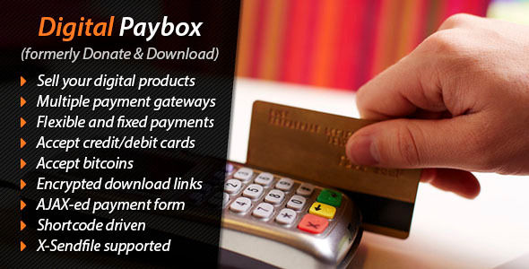 Digital Paybox Pay and Download