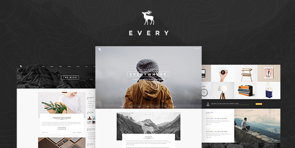 EVERY Creative Onepage PSD Template