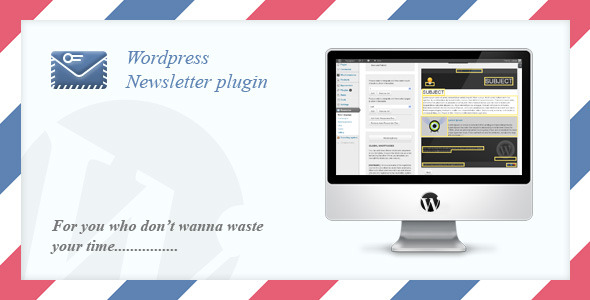 Email Newsletter System WordPress Plugin