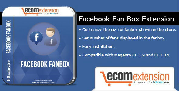 Facebook Fan Box Extension For Magento