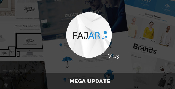 Fajar Multipurpose PSD Template