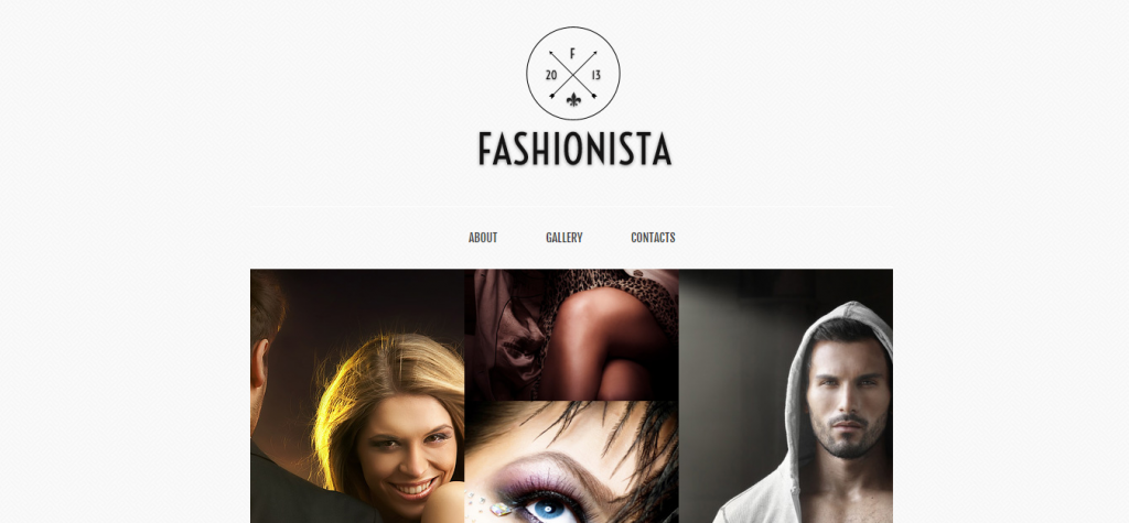 Fashionista Adaptive HTML Facebook Template