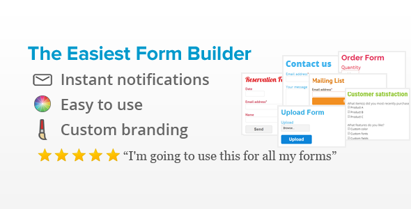 Form Generator WordPress Form Builder