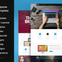 HUGE multipurpose PSD Template