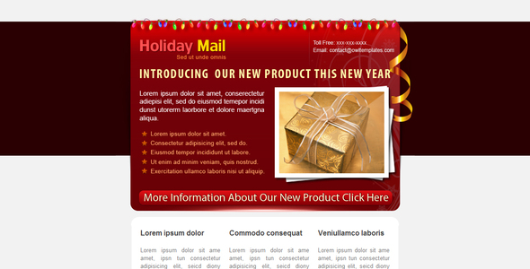 Holiday Mail 5 COLORs