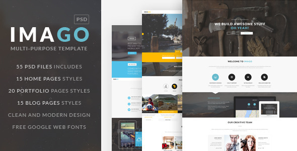 IMAGO Multipurpose PSD Template