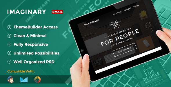 Imaginary Multipurpose Creative Email Template Builder Access