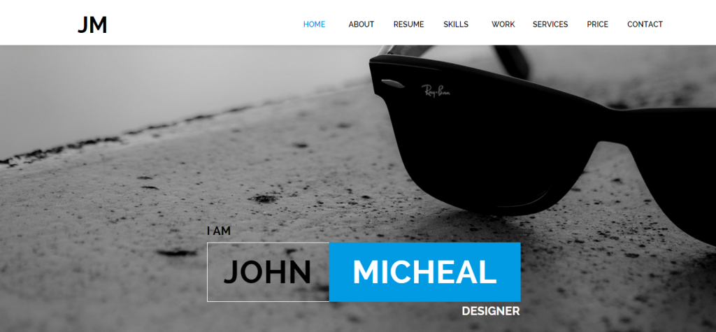 JM Resume Muse Template