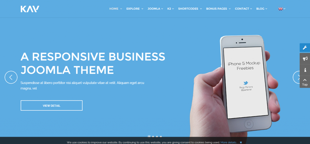 Kay Responsive Business Joomla Template
