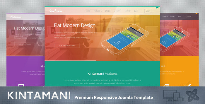Kintamani Responsive Multi-Purpose Joomla Theme