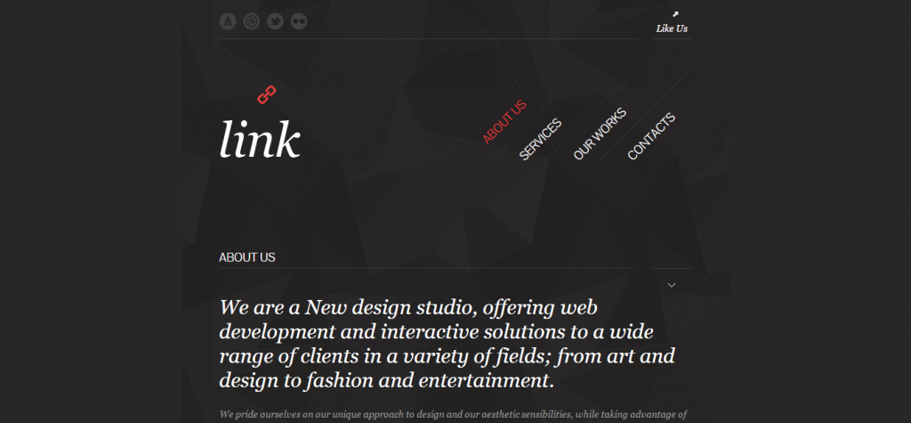 Link Responsive Facebook HTML Template