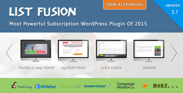 List Fusion Best PopUp and Lead Generation Plugin