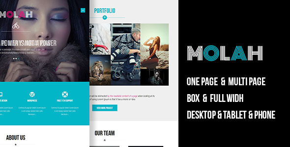 MOLAH Responsive Muse Template