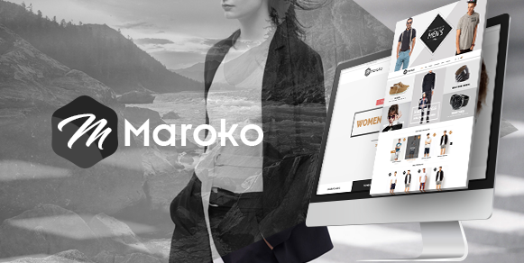 Maroko ECommerce PSD Template